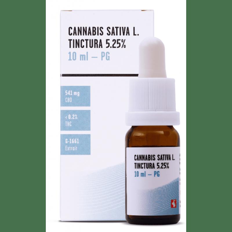 MEDROPHARM Cannabis sativa L. tinctura 5.25 % CBD M-1661 PG vial 10 ml